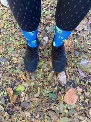 Ashley Dailey verified customer review of Chili Pepper Socks (Mini-Crew)