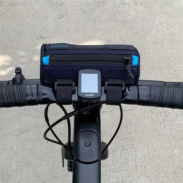 David Garza verified customer review of Handlebar Bag Mini - Black