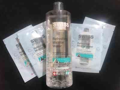 Melissa A. verified customer review of Swiss Image Refreshing Micellar Water
