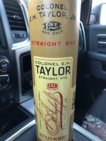 Ray Niccolai verified customer review of Colonel E.H. Taylor Jr. Straight Rye Whiskey