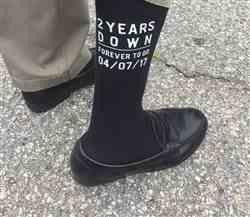 sockprints 2nd Anniversary Personalized Dress Socks for Men Review