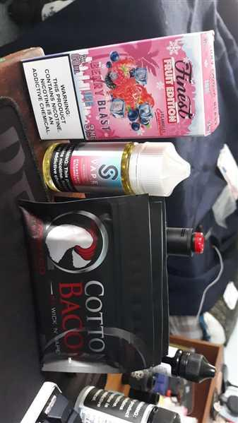 Jackson Boggs verified customer review of Organic Cotton Bacon V2 by Wick 'N' Vape (10 Pieces)