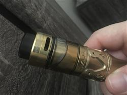 Ivan  verified customer review of GeekVape Zeus 26mm Dual Coil Leak Proof RTA
