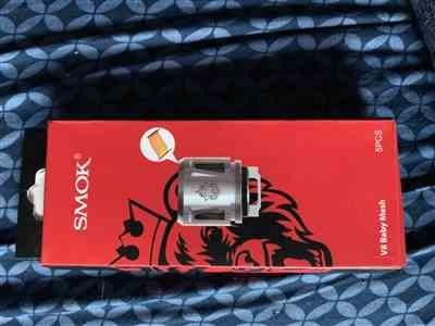 william l. verified customer review of SMOK TFV8 Baby Beast Replacement Coil