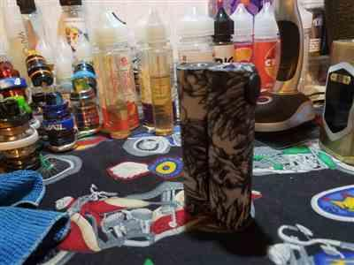 larry S. verified customer review of Squid Industries Double Barrel 3.0 150W Box Mod