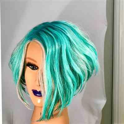 Stephen H. verified customer review of Bianca Platinum Blonde Human Hair Mannequin for color deposit - 12 inch hair