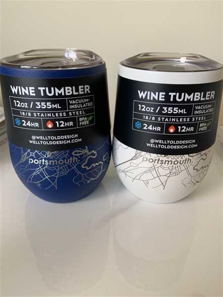 Well Told Home Town Maps 12 oz Insulated Wine Tumbler Review