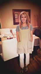 violet enochs verified customer review of The Original Linen Pinafore-Apron