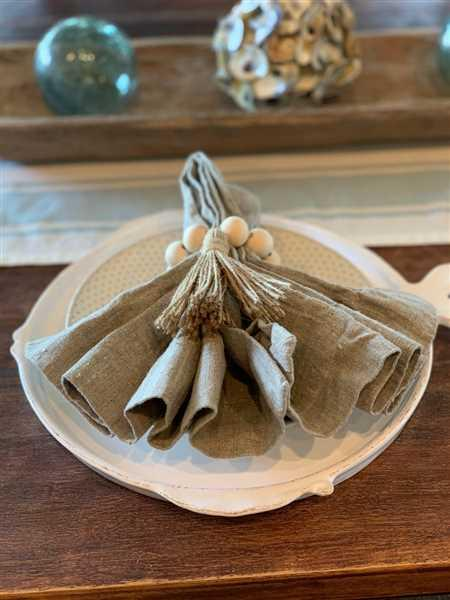 Kimberly Waters verified customer review of Orkney Linen Napkin Set