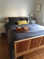 Emily R. verified customer review of Queen Bed Makeover