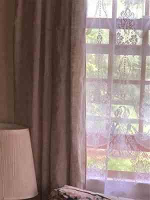 Rough Linen St. Barts Linen Solid Curtain Review