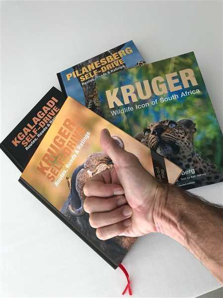Massimo Pisetta verified customer review of Bundle of Kruger, Kgalagadi and Pilanesberg Self-Drive Books