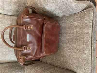 Motshabi Pitso Pitso verified customer review of Mally Bambino Leather Baby Backpack | Brown