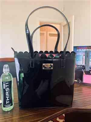 Chelsea Watson verified customer review of Pierre Cardin Scalloped Patent Tote | Black