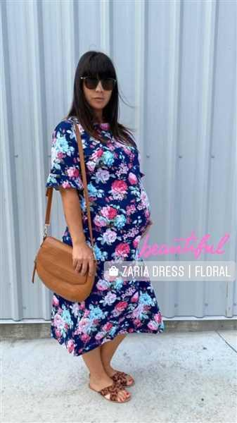 Mica Thomson verified customer review of Zaria Dress | Floral