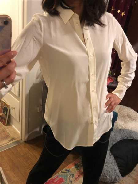 Last Brand Premium Washable Silk Blouse Review