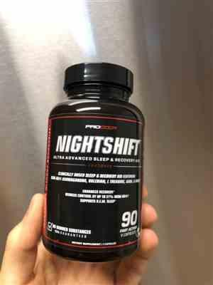 Amy H. verified customer review of NIGHTSHIFT
