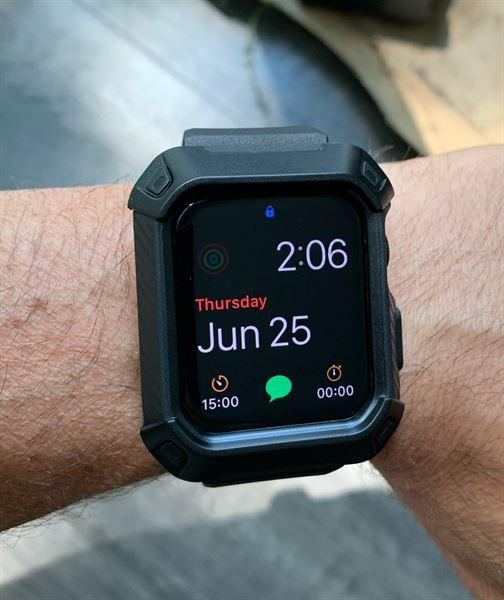 SUPCASE Apple Watch Series 4 UB Pro Wristband Case (40mm) Review