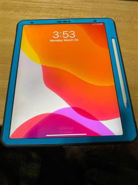 Darrel Sr Miner verified customer review of iPad Pro 12.9 inch 2018 Unicorn Beetle Pro Full Body Case (Apple Pencil compatible)