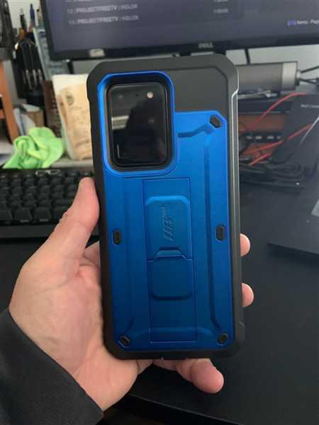 David Fleishman verified customer review of Galaxy S20 Plus Unicorn Beetle Pro Rugged Case