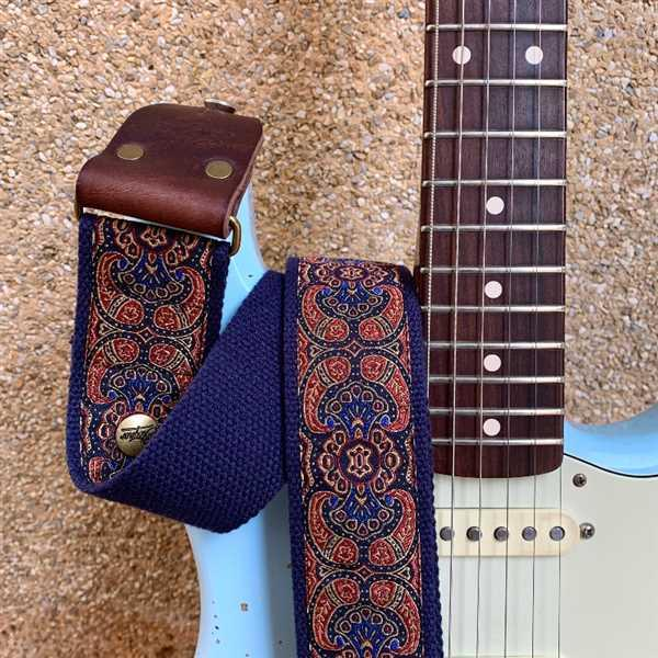 Steyner Straps Retro Gitarrengurt Polarlicht Review