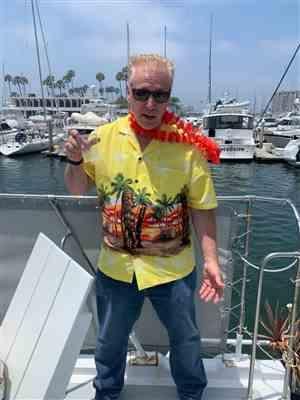 Patti W. verified customer review of Tall Tikis Yellow Hawaiian Shirt