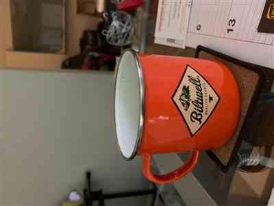 Ronnie H. verified customer review of Camp Mug - CRS Orange/White