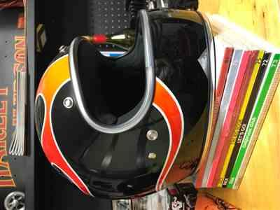 Telly H. verified customer review of Gringo ECE Helmet - DICE Flames