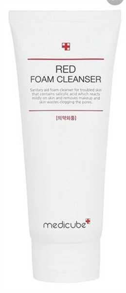 themedicube.com.sg Red Foam Cleanser Review