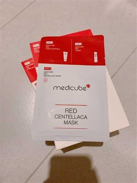 themedicube.com.sg Red Centellaca Mask Review
