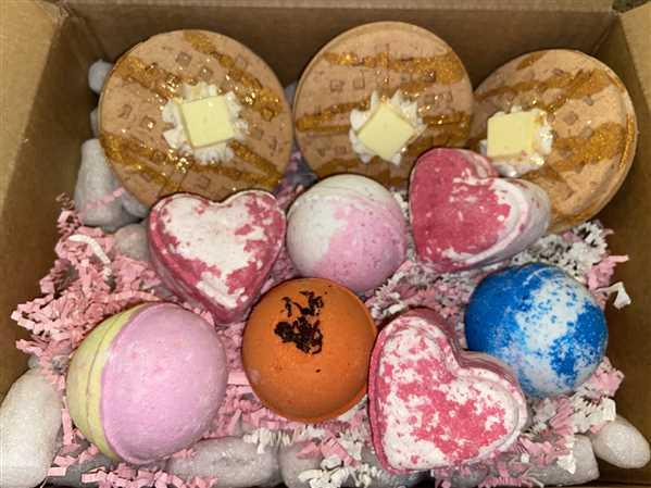 Nectar Bath Treats Maple Sugar Waffle Bath Bomb Review