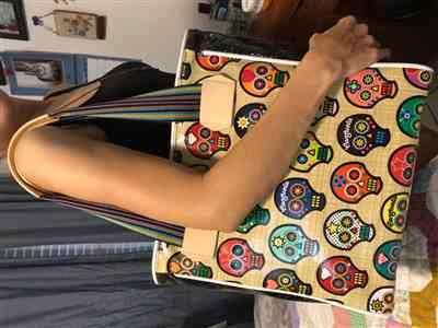 Jennifer Y. verified customer review of Sugar Skulls Classic Tote