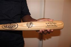 jstrong214 verified customer review of Personalized Louisville Slugger MLB Team Logo Bats