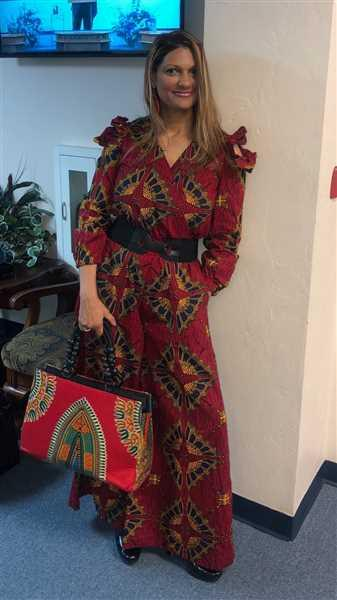 Ray Darten Jelo African Print Jumpsuit Review