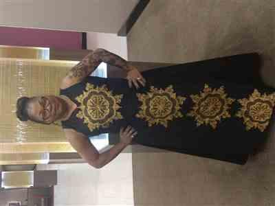 Diane Best verified customer review of Abioye Dress