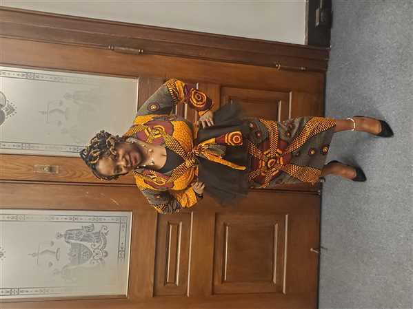 Erica  verified customer review of Alake African Print Jacket