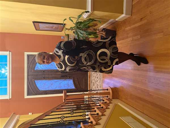 Mary verified customer review of Tele African Print Jacket Dress