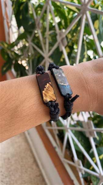 Josean Lopez verified customer review of Ruby - Dark Red - Wood+Resin Bracelet