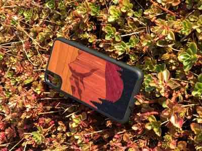 Florian J. verified customer review of Mt Bierstadt Inlay - Wood Phone Case