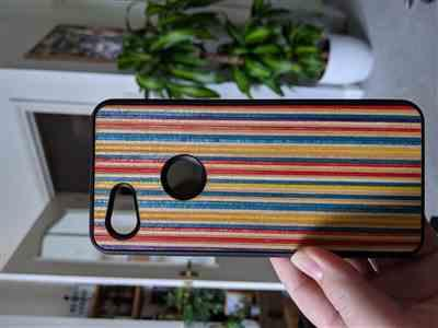 Emma L. verified customer review of Sk8 - Wood Phone Case