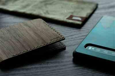 Tyler S. verified customer review of Bifold Wood Wallet