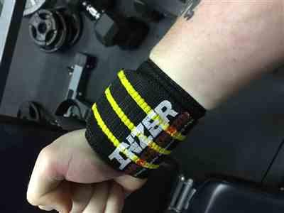 Nicholas M. verified customer review of Inzer Gripper Wrist Wraps