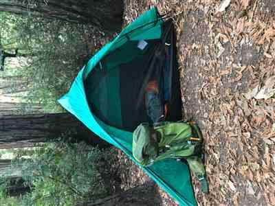 Brad B. verified customer review of 1 Pole Easy Set - Two Person Backpacking Tent