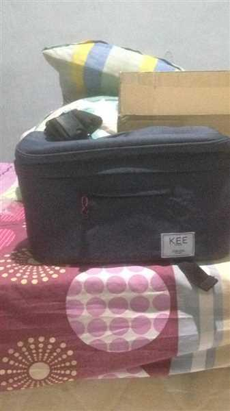 KEE INDONESIA Beetle Camera Sling Bag Dark Grey Review