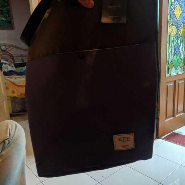 KEE INDONESIA Lila Tote Bag Navy Green Review