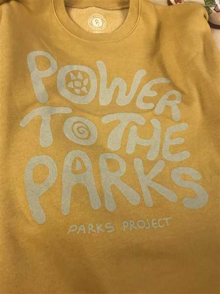 Parks Project Power To The Parks Crew Sweatshirt Review