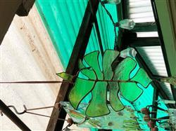 Rebecca C. verified customer review of Monstera Leaf Glass Suncatcher