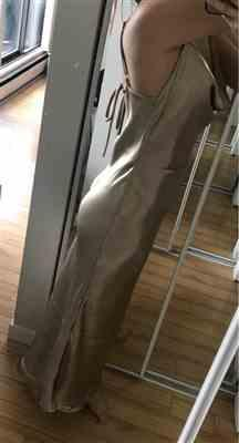 M***i verified customer review of Goldie Party Maxi Dress