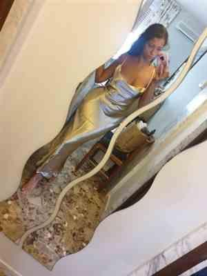 A***o verified customer review of Goldie Party Maxi Dress