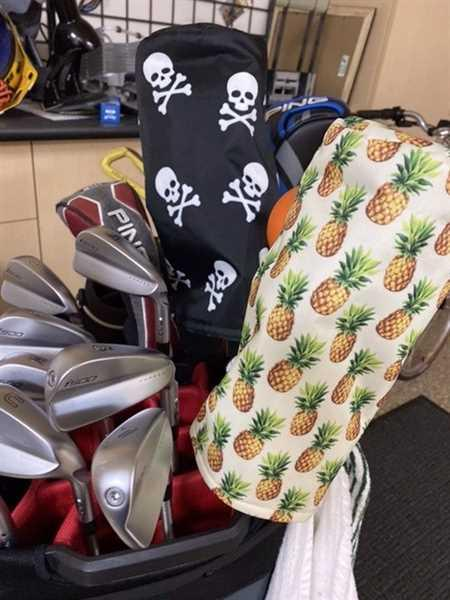 Tim Carlson verified customer review of Pineapple Golf Head Cover DURA+